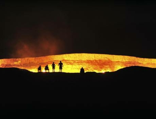 The 'Gateway to Hell': Turkmenistan's wildest draw is its blazing natural-gas crater | Globe & Mail