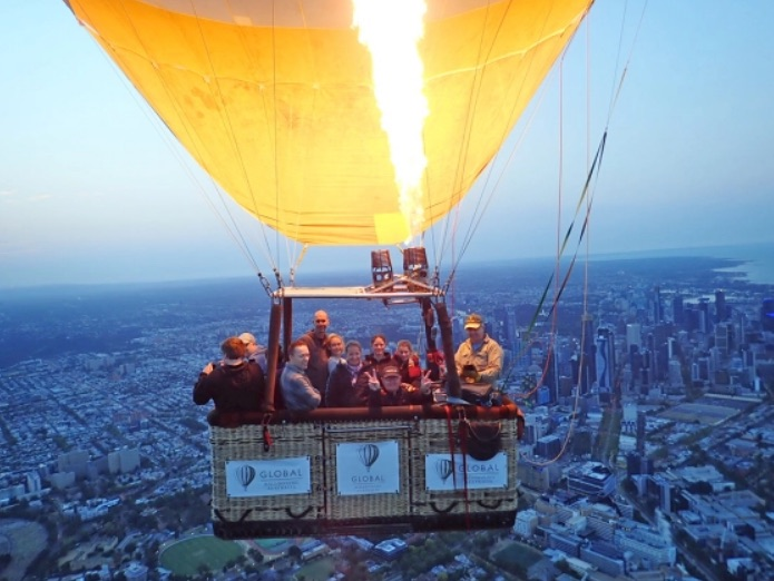 Flying high in Melbourne | Vancouver Sun